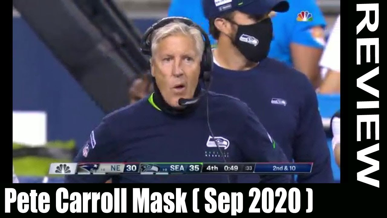 Pete Carroll Mask Sep 2020 Let Us Know The Facts Scam Adviser Reports Youtube