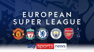 European Super League confirmed by 12 founding clubs