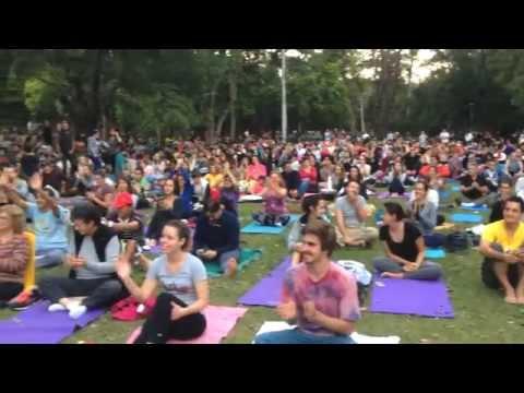 International Yoga Day: São Paulo 2/ jun 15