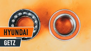 How to change front wheel bearing on HYUNDAI GETZ 1 TUTORIAL | AUTODOC