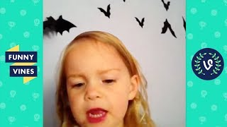 TRY NOT TO LAUGH - FUNNY HALLOWEEN VINES! | Funny Videos October 2018