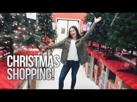 CHRISTMAS SHOPPING AT TARGET!!