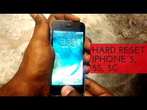 Hard reset iphone 5 without itunes password