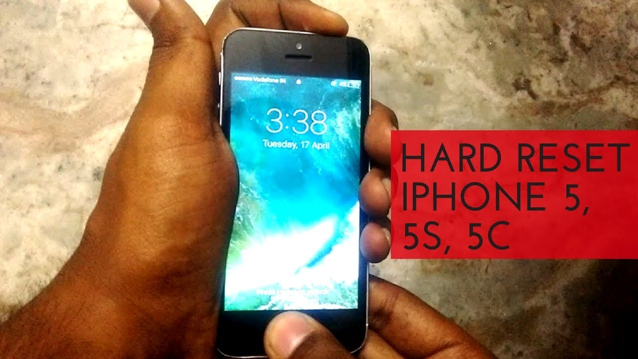 How to hard reset iPhone 28,28s and 28c - YouTube  Hacking websites