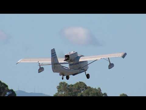 N6485K 1947 REPUBLIC RC-3 SEABEE Departing HWD