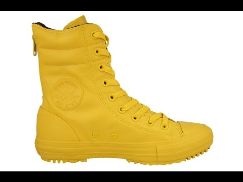 Converse Chuck Taylor Rise Boot Rubber 549589C - YouTube 240dfdfff