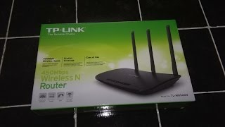 TP-Link TL-WR940N wireless router unboxing