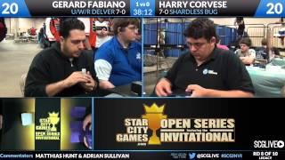 SCGINVI - Legacy - Gerard Fabiano vs Harry Corvese