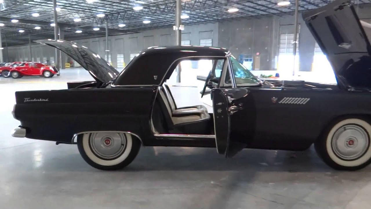 1955 ford thunderbird stock 005 located in our tampa. Black Bedroom Furniture Sets. Home Design Ideas