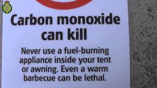 What does Carbon Monoxide do to your body?