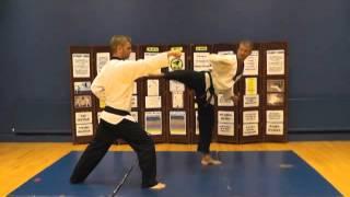 Black belt Taekwondo Advanced One step sparring.