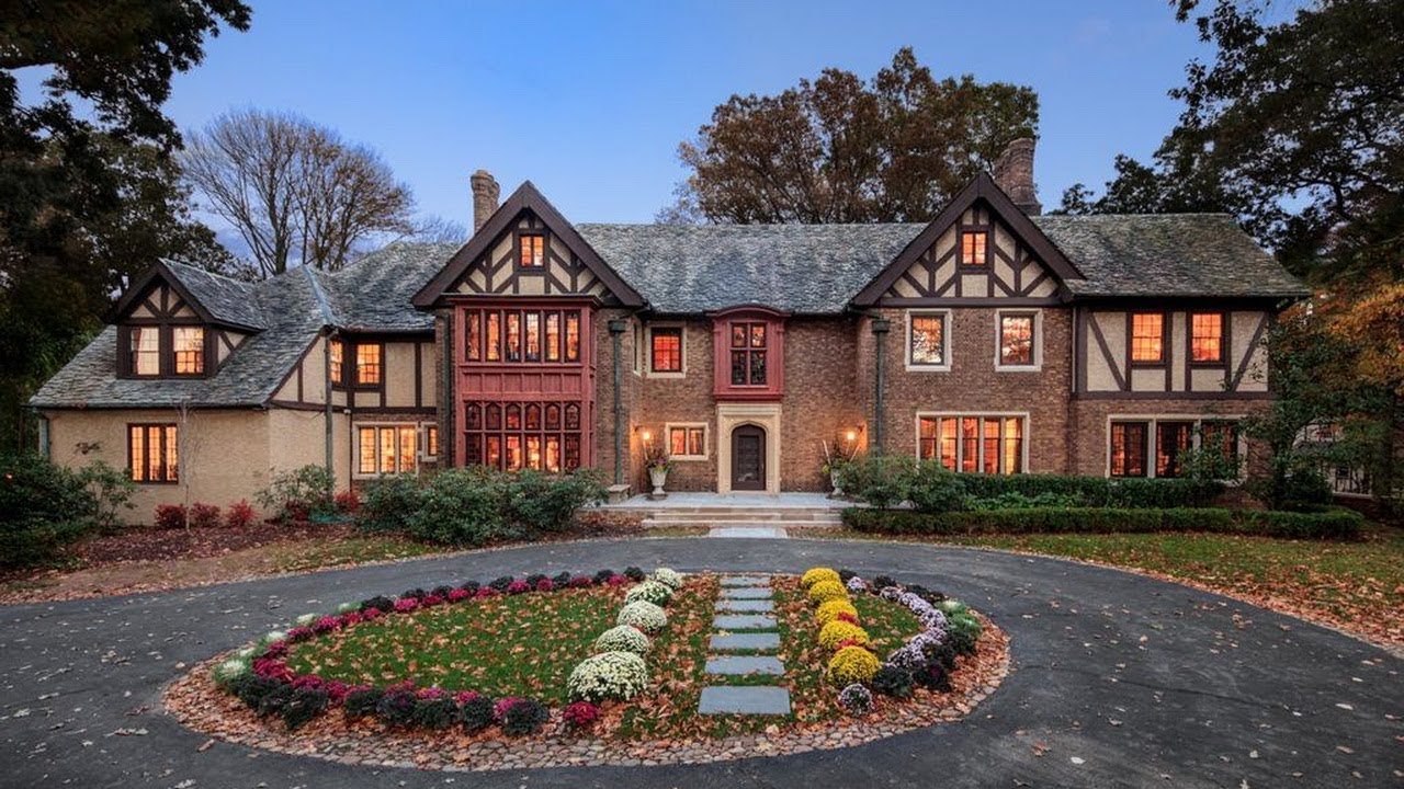 Prestigious English Tudor Home Offers Original Architectural With Today\u0027s Modern Amenities & Prestigious English Tudor Home Offers Original Architectural With ...