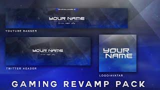 FREE Gaming Rebrand Pack Template Download