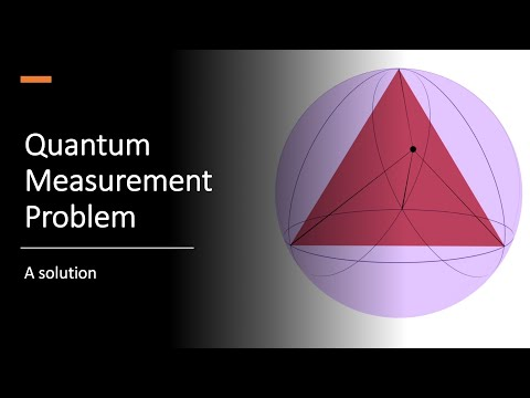 Solving the measurement problem - YouTube