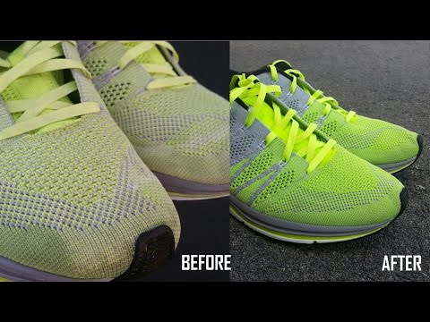 HOW TO CLEAN YOUR NIKE FLYKNIT TRAINERS AND LUNAR FLYKNITS