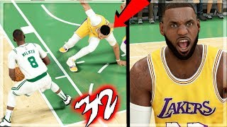 NBA 2k20 MyCAREER - Ankle Breaker 1st Play! Now LeBron is ANGRY! Ep. 32