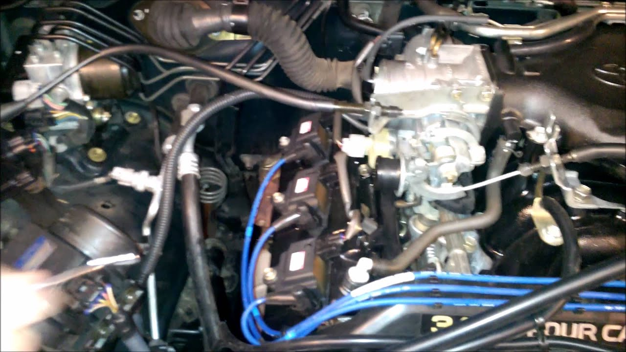 1996 Toyota 4runner Engine Coil Replacement Youtube