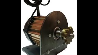 Bldc motor india / electric vehicle motor (brushless dc motor india)
