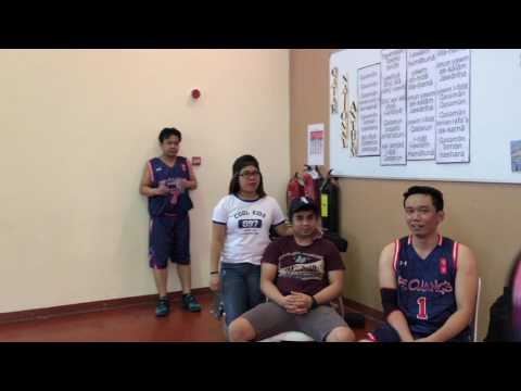 Filipino-Qatar Basketball League 2017 ( PF Chang's Villagio VS PF Chang's Gulf Mall