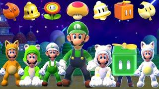 Super Mario 3D World + Bowser's Fury - All Luigi Power Ups