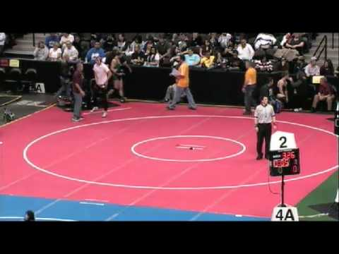 2012 CHSAA Wrestling Session 5 Mat 3