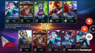 Mobile Legends - Yi sun shin PENTA KILL!