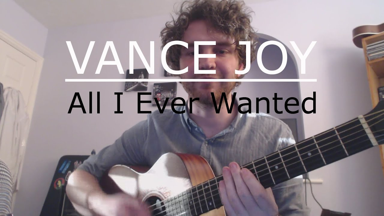 All I Ever Wanted - Vance Joy (Guitar Tutorial/Guitar Lesson) Beginners 3  Chord Song