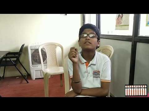 Chanakya Abacus Student Rudra Langde 2