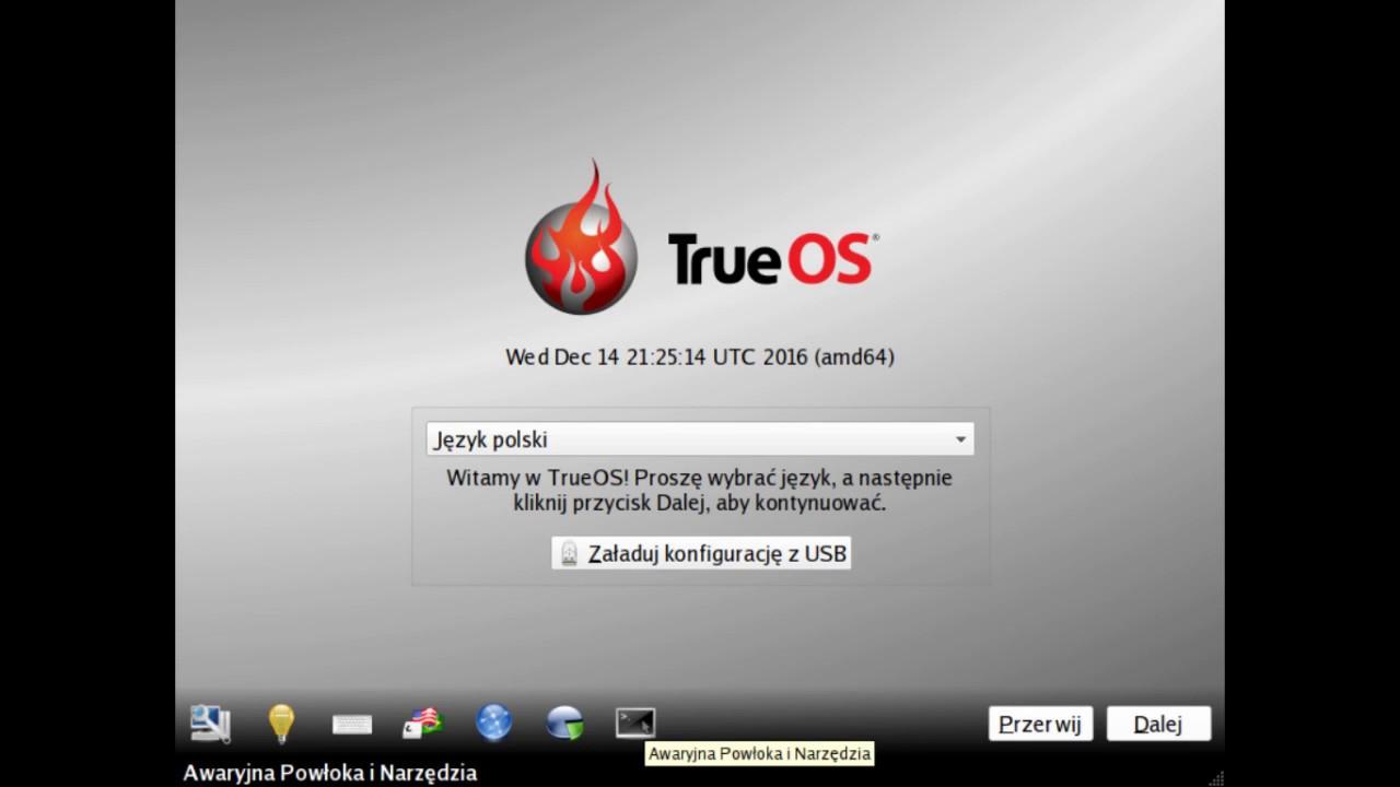 trueos (pc-bsd) - install - Yo...