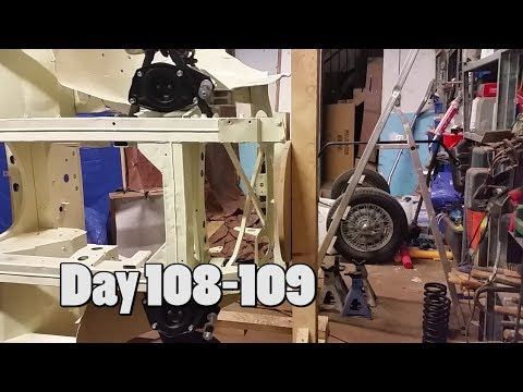 The Austin Healey Project - Day 108-109