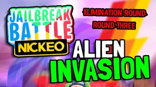 ALIEN INFECTION! - Round #3 - Jailbreak Battles Competition For Over 1,000 Robux! (Roblox)