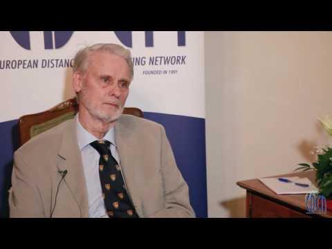 Tutorials vs. virtual classes - Michael Grahame Moore interviewed by Steve Wheeler #EDEN16