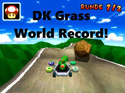 Mario Kart Ds Dk Grass Fast Lap 25 332 World Record Freedom