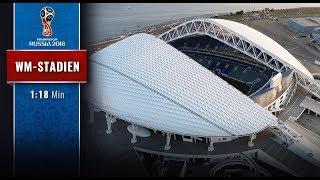 Russlands WM-Stadien: Das Olympiastadion in Sotchi