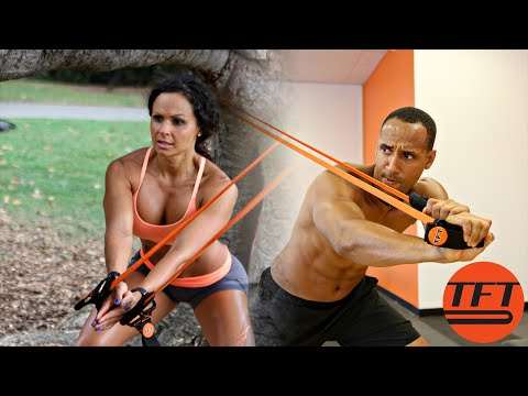Resistance band workouts for men and women | Tension Fit10