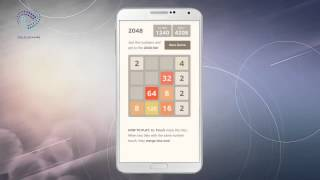 Android Games - 2048 Numbers Puzzle Game