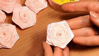 Плоская роза из атласной ленты шириной 2,5 см Видео Мастер Класс(Меня зовут Настя, и я рада приветствовать вас на своем канале, на котором представлены мастер класс по канза..., 2014-04-04T06:00:01.000Z)