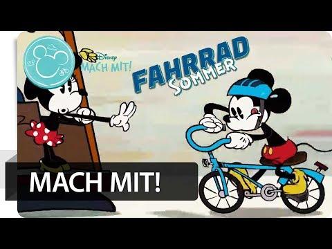 Auf die Räder, fertig, los ???? Tolle Radtouren von Disney | Mach mit!