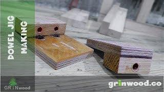 Dowel Jig Making - Simple Woodworking Tool