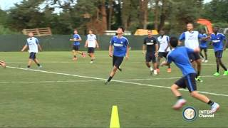 ALLENAMENTO INTER REAL AUDIO 02 09 2015