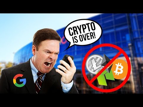 Google Says NO to CryptoCurrency!!