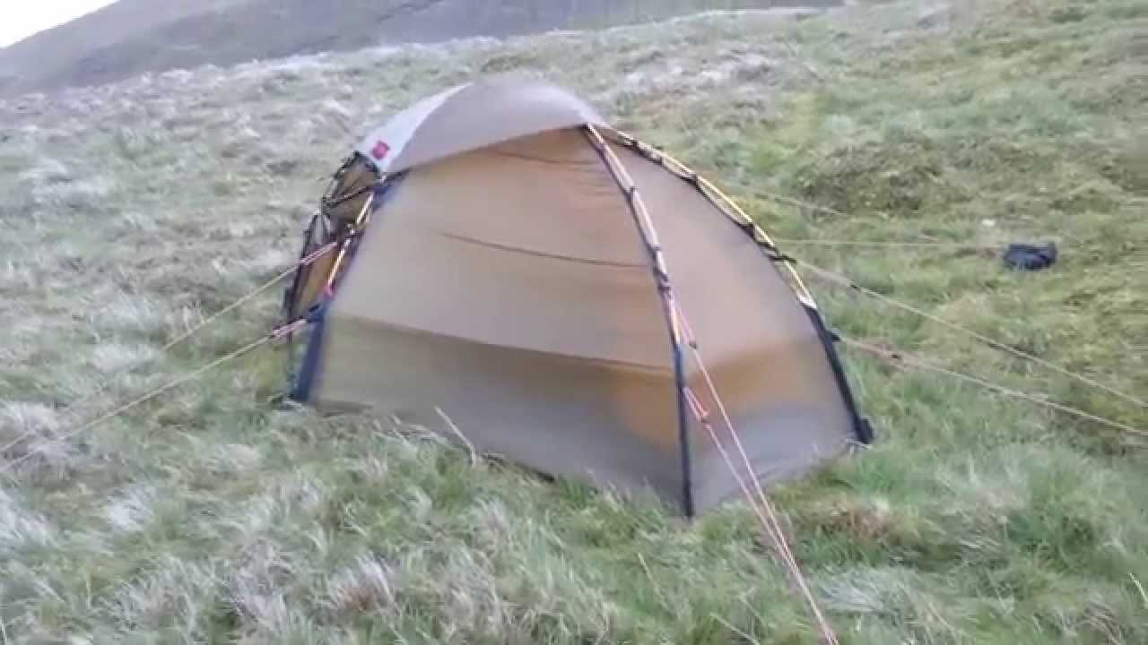 Hilleberg Soulo  wild  c& on Threlkeld Common Lake District - YouTube & Hilleberg Soulo