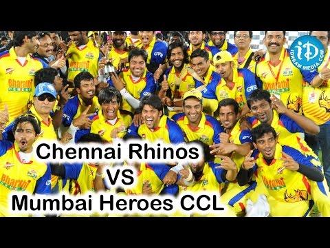 Chennai Rhinos VS Mumbai Heroes CCL 6 T20 Match Exclusive Video Part 3