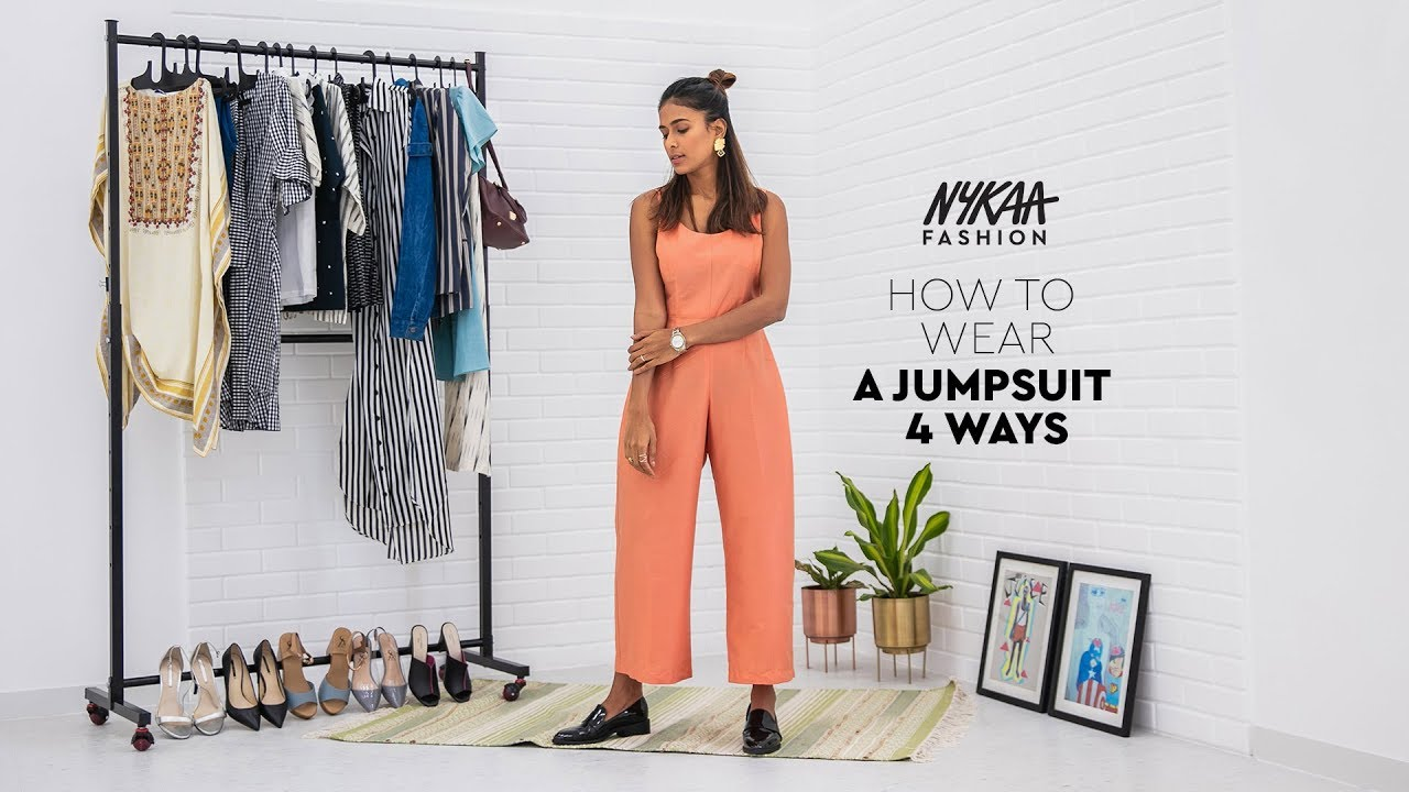 How To Style Your Look | 1 Jumpsuit 4 Styles | Nykaa Fashion