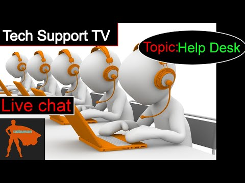 Tech Support TV, TOPIC: Help Desk Tutorials using Ticketing System Jira.