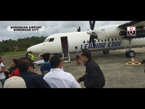 Pagkakaroon ng flights sa Borongan malaking ginhawa sa mga Estehanon
