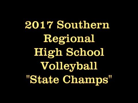 "2017 Southern Regional High School Volleyball ""State Champs"""