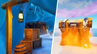 Secret Locations on the new Fortnite map!