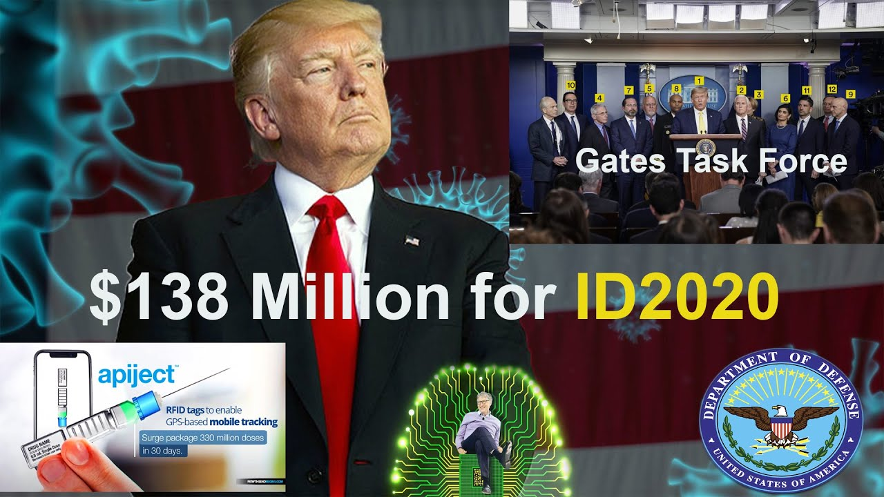ID2020: Gates (White-House)Task Force, 3 Zone NWO. Could this be true????