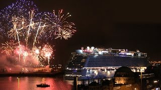 NORWEGIAN ESCAPE - Sail Away Party Landungsbrücken 2015